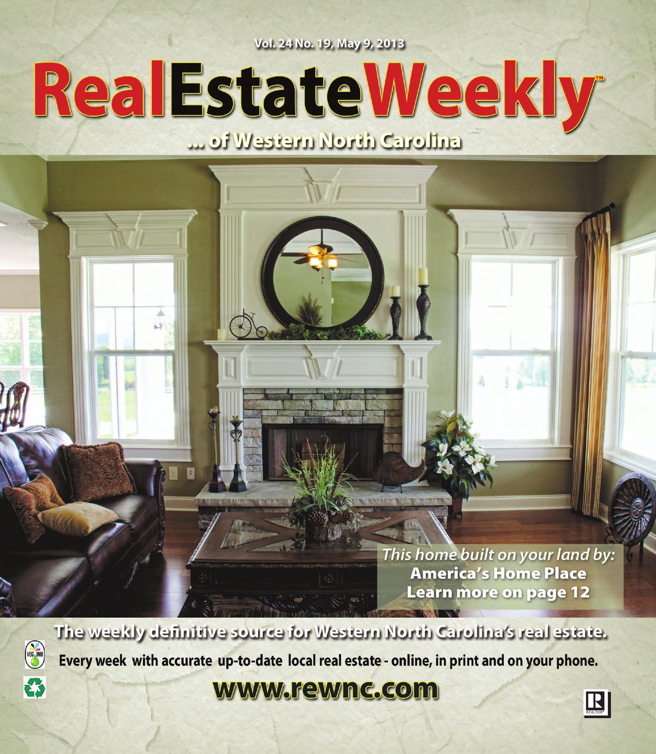 The Real Estate Weekly Vol  24 Issue 19 by WNC Homes & Real Estate