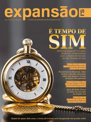 7ccea2a2f54 Expansão 150 by Revista Expansão RS - issuu