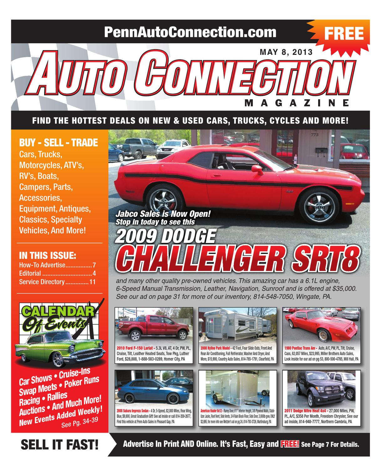 05-08-13 Auto Connection Magazine by Auto Connection