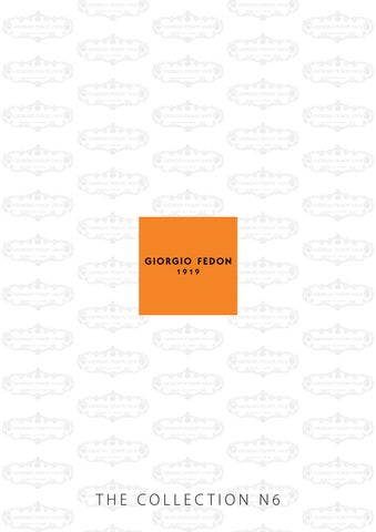 583d8dbcb38f8b Brand to Be - Giorgio Fedon 1919 - The Collection N6 by Brand to Be ...