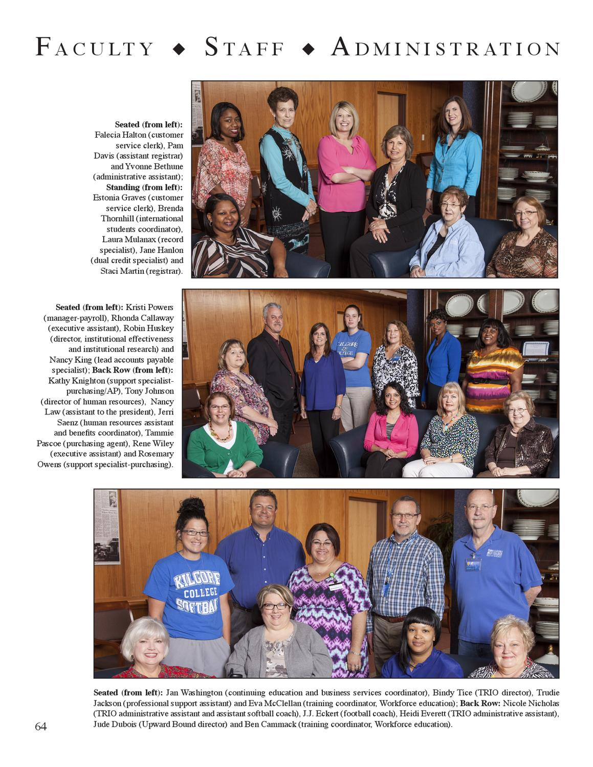 Care Coordinator ... Ranger Yearbook 2013 By Kilgore College Issuu