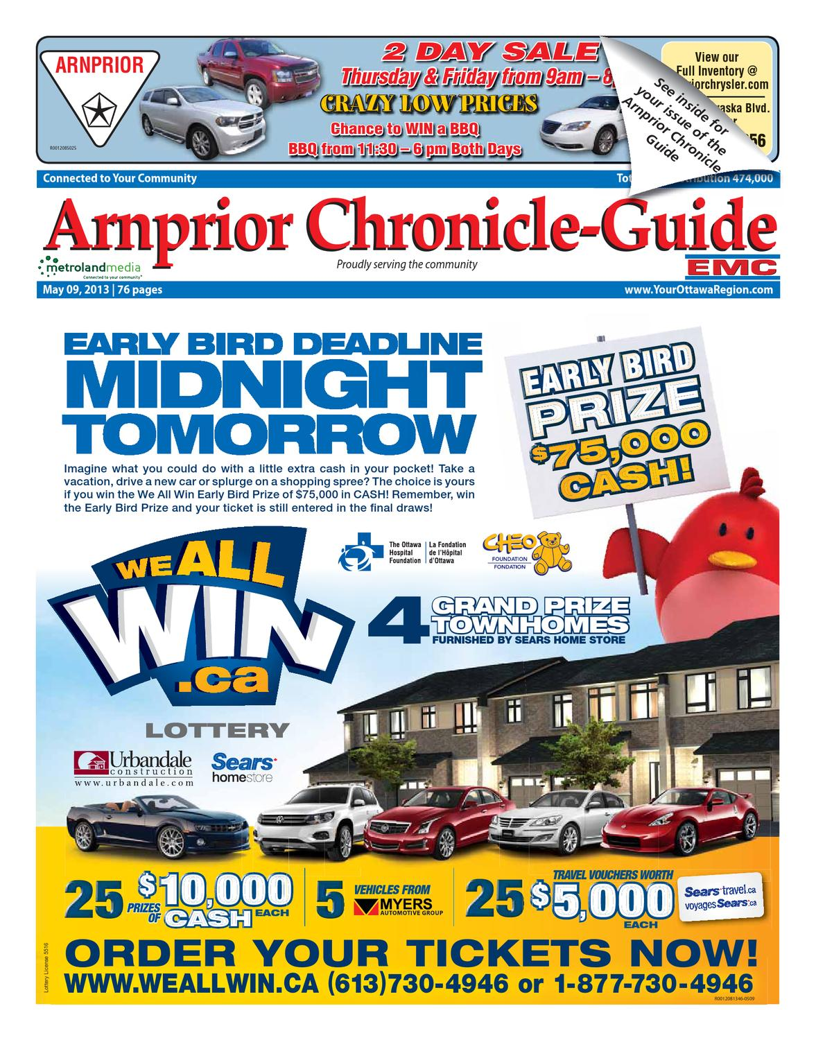 1995e02cd5c Arnprior Chronicle Guide by Metroland East - Arnprior Chronicle-Guide -  issuu