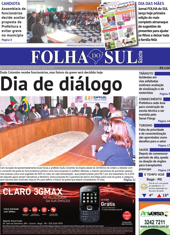 4a9cca166 Folha do Sul Gaúcho Ed. 917 (08/05/2013) by Folha do Sul Gaúcho - issuu