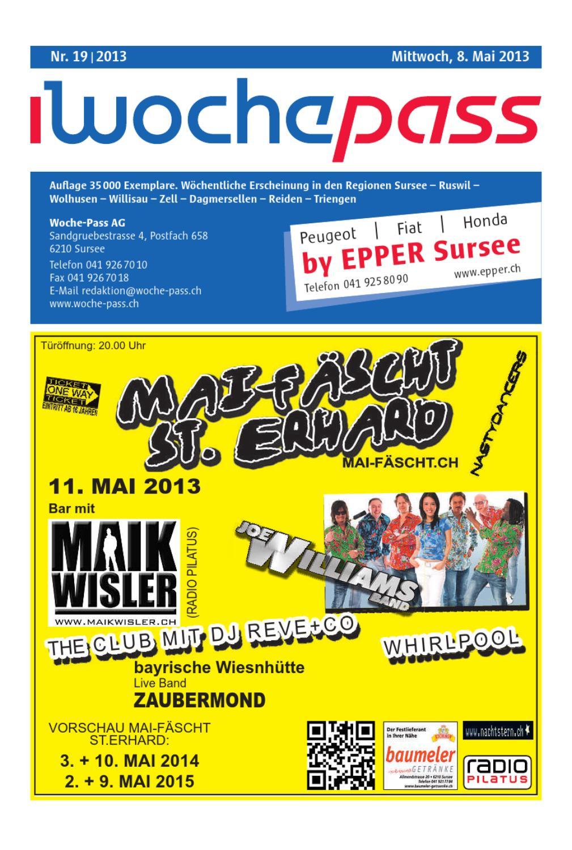 Woche Pass | KW19 | 8. Mai 2013 by Woche Pass AG issuu