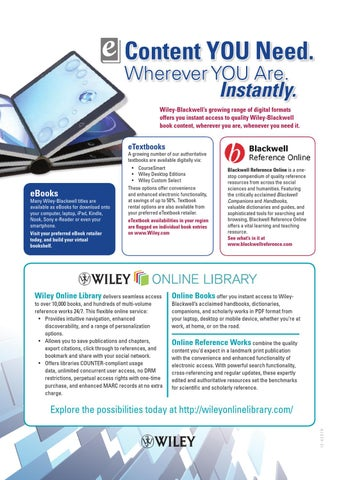 The wiley blackwell preview humanities social sciences july page 1 fandeluxe Choice Image