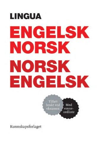 norska till engelska