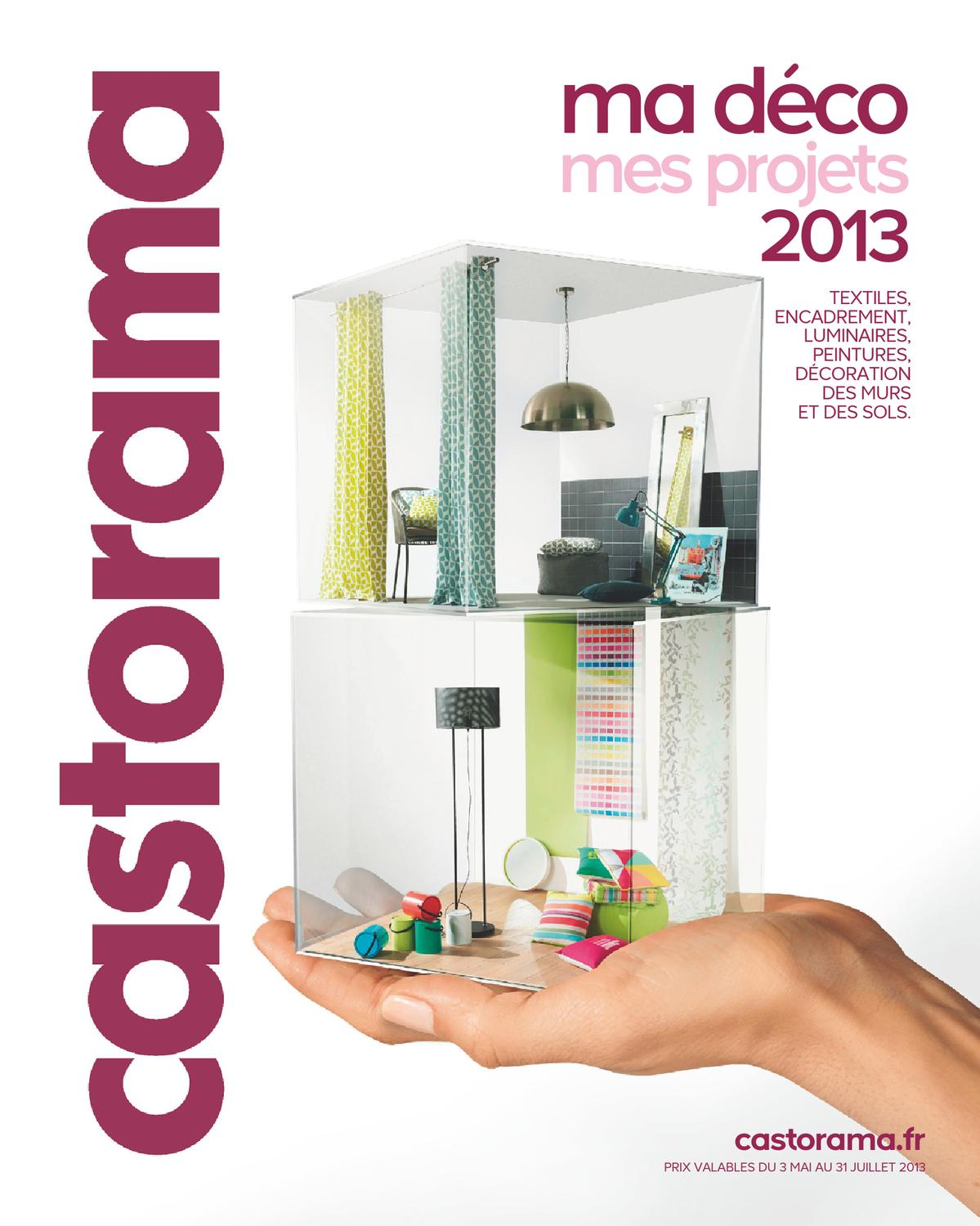 Castorama Catalogue 3 Mai 31 Juillet 2013 By Promocatalogues