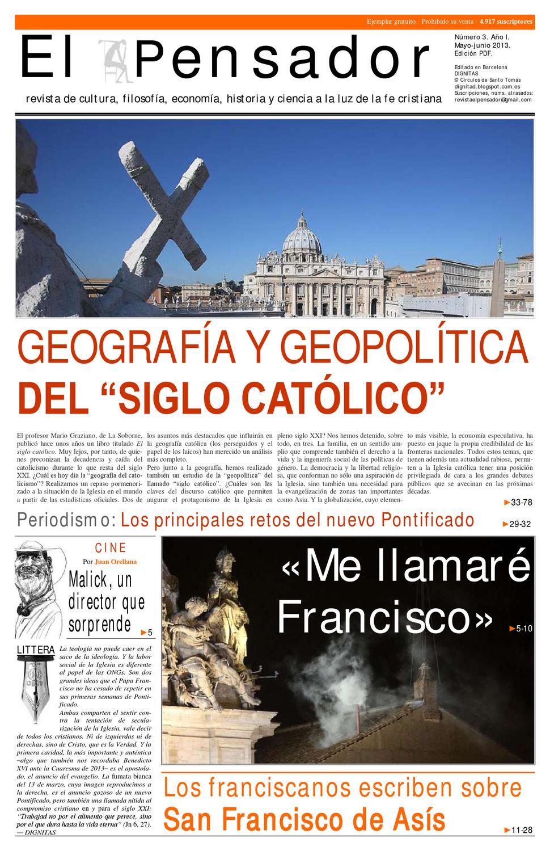 El Pensador. Número 3. Año I by ForumLibertas.com - issuu