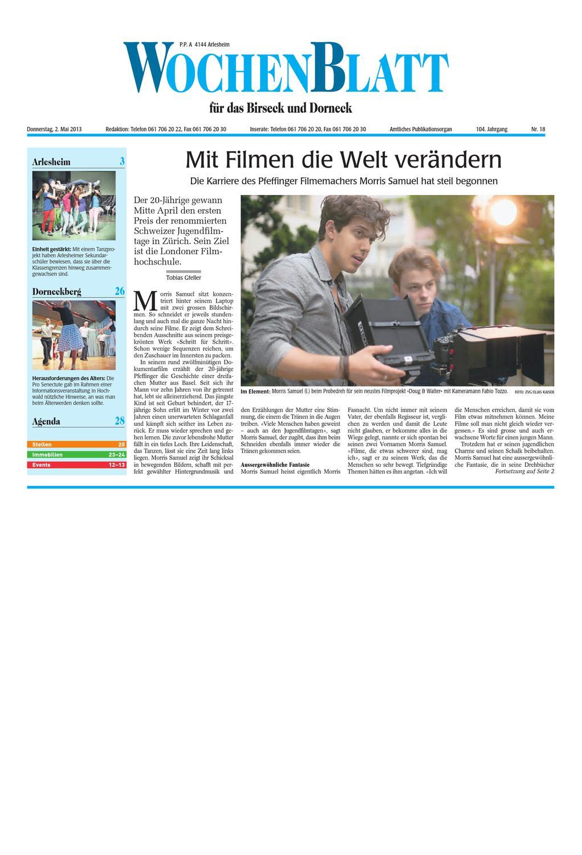 20141106 woz wobanz slim by AZ-Anzeiger - issuu