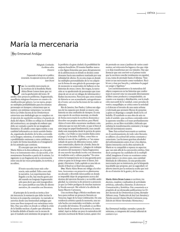 Contratiempo 104 Mayo 2013 By Revista Contratiempo Issuu