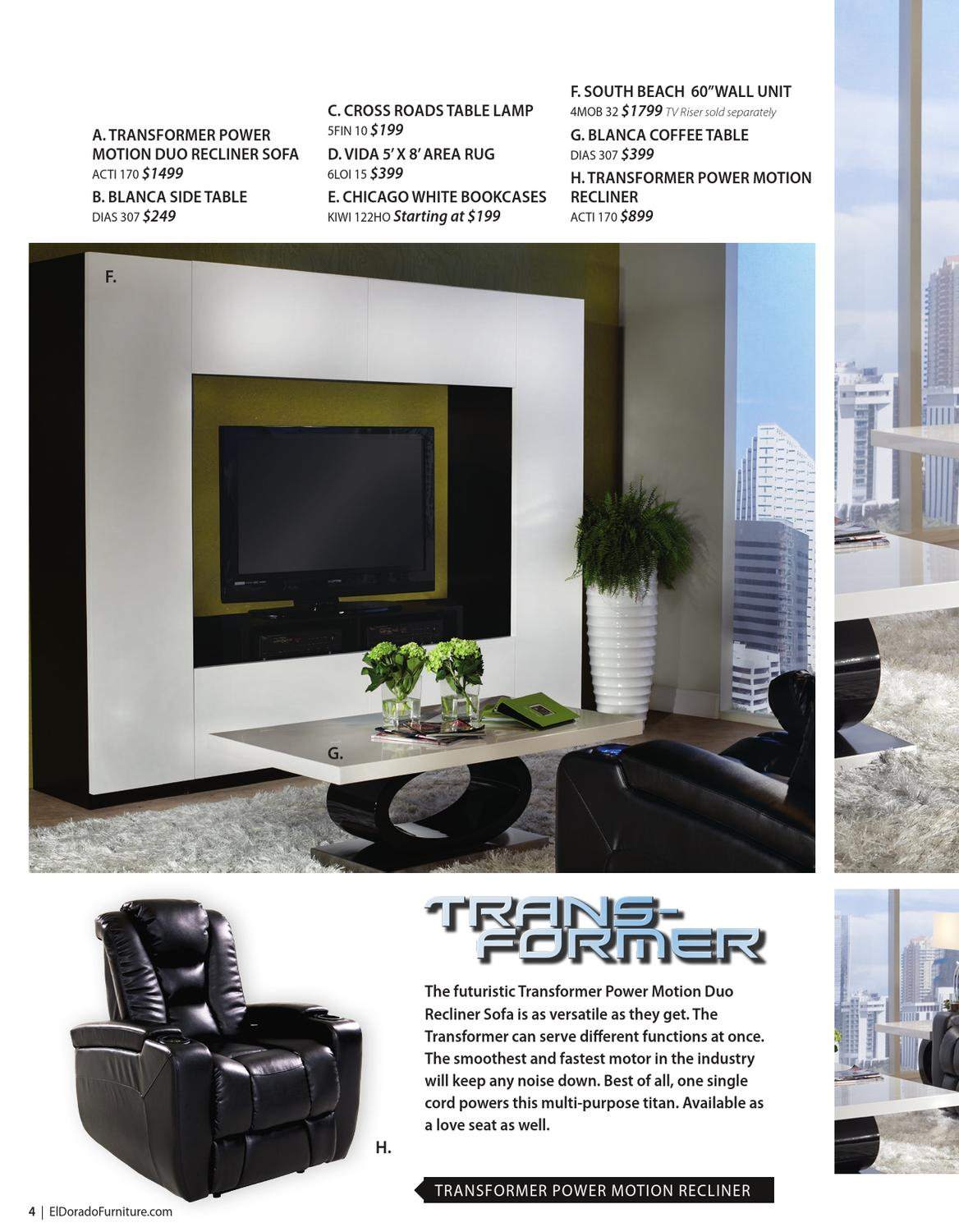 El Dorado Furniture Catalog Spring 2013 Issue By El