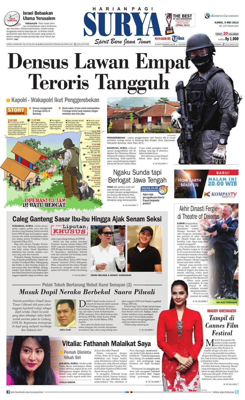 E Paper Surya Edisi 9 Mei 2013 By Harian Issuu Produk Ukm Bumn Segi Empat Leopard