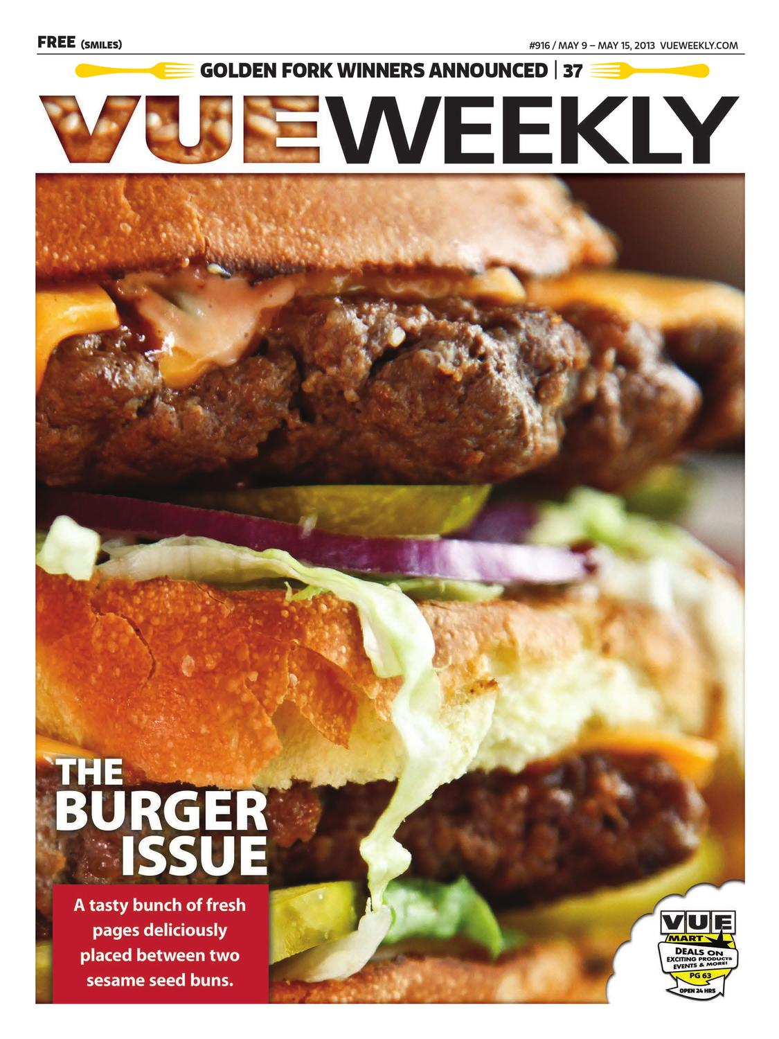 The Burger Issue By Vue Weekly Issuu