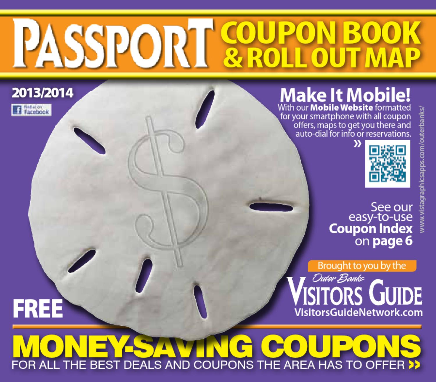 Outer Banks Passport Coupon Book 2013 2014 by VistaGraphics issuu