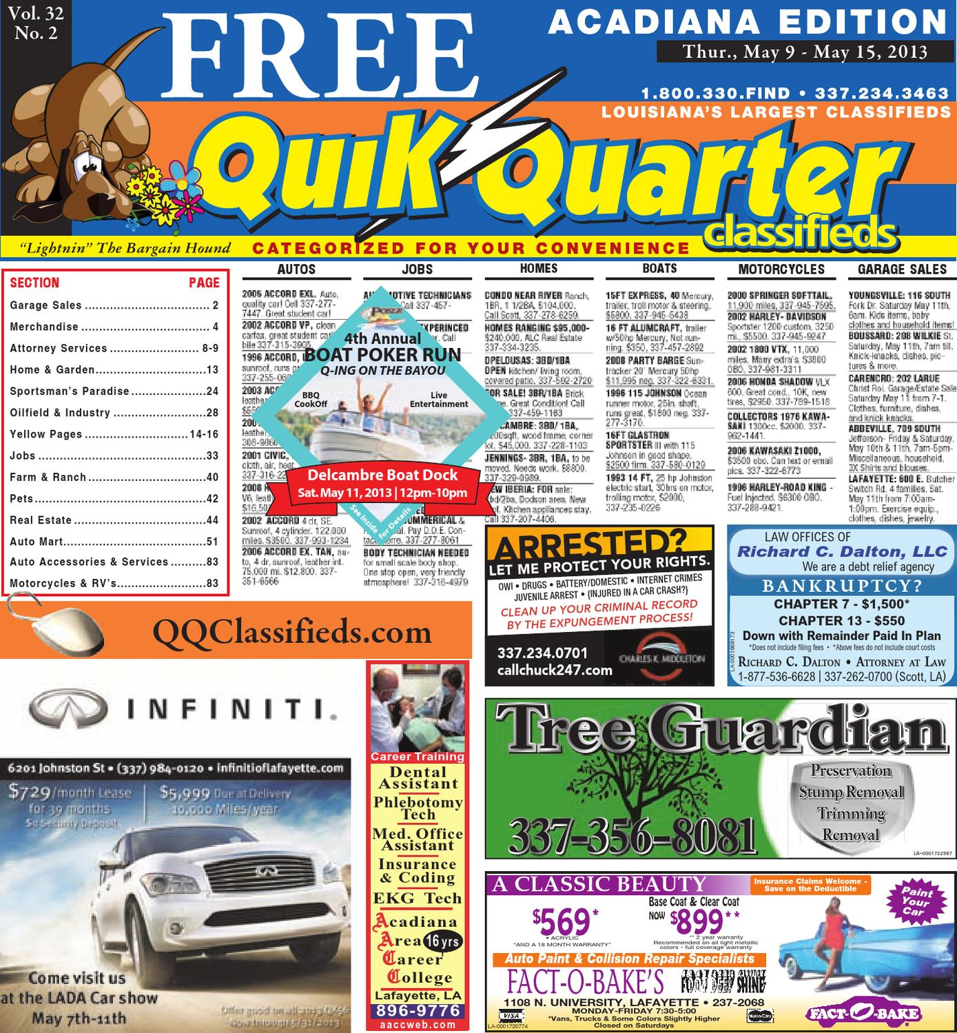 Qq Acadiana By Part Of The Usa Today Network Issuu Diagram 2007 Nissan Altima Front Bumper 2006 Buick Lacrosse