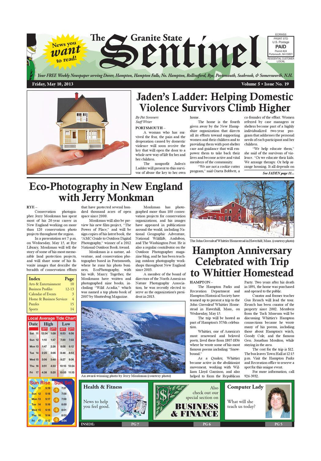 Gss May 10 2013 By Granite State Sentinel Issuu