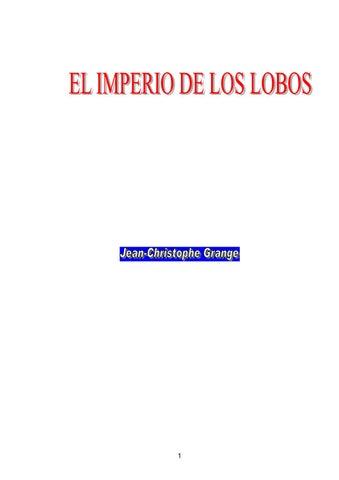 Grange, Jean Christophe - El imperio de los lobos by mirta ...