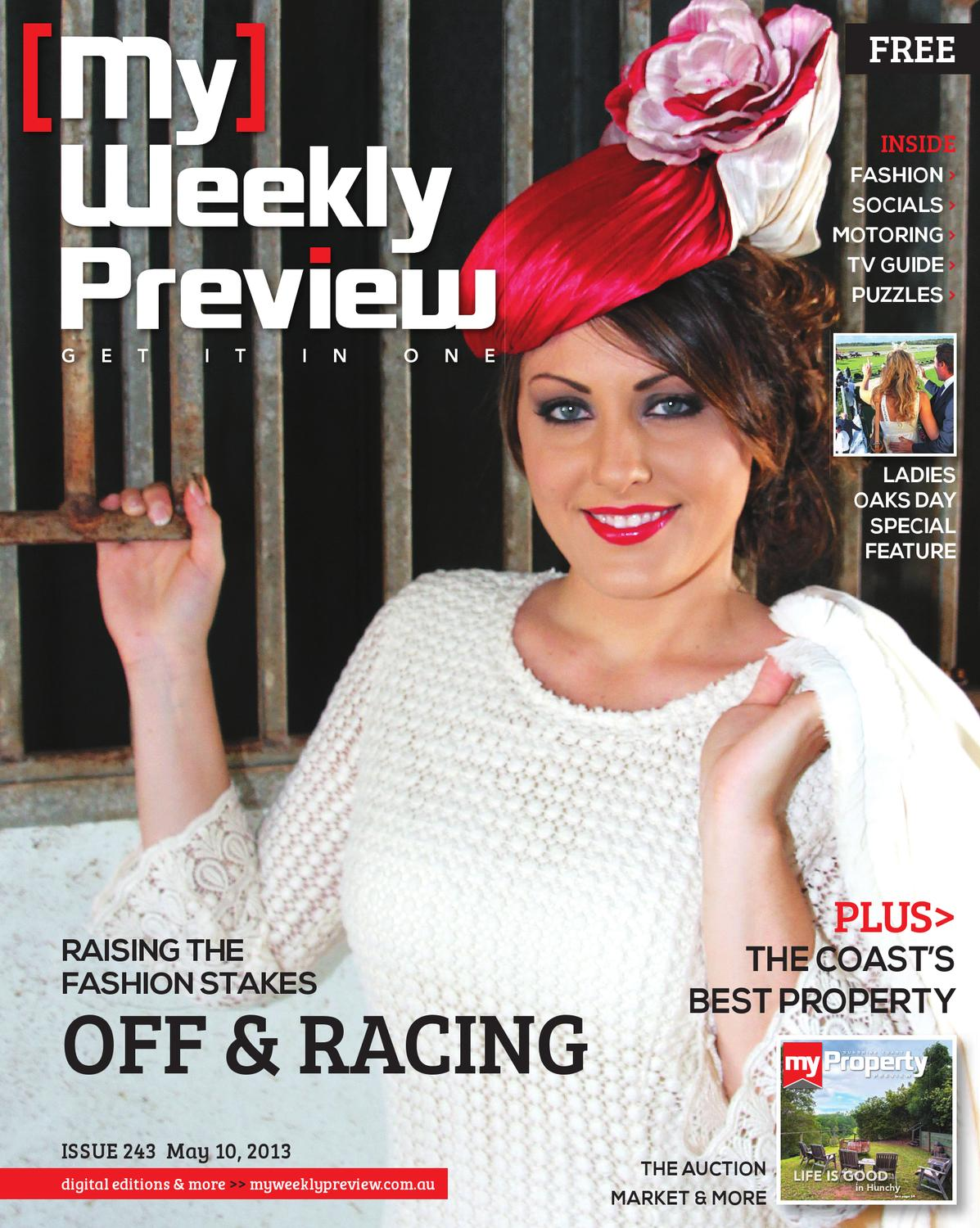My Weekly Preview Issue 243 - May 10, 2013 by My Weekly