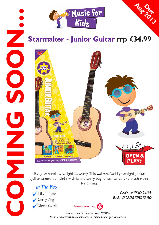 Childs Junior Guitar Kit By John Bassett Issuu