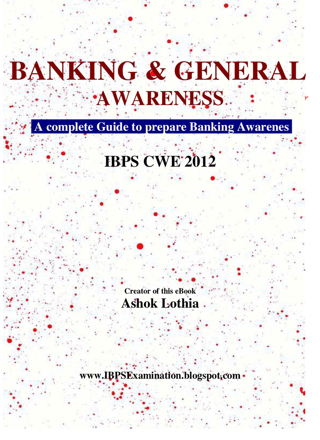 Banking awareness by athul v raj issuu fandeluxe Image collections