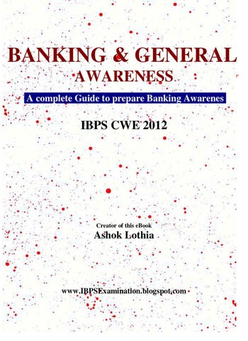 Banking awareness by athul v raj issuu page 1 fandeluxe Images