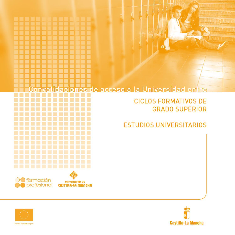Convalidacion De Modulos De Fp Con Creditos Universitarios