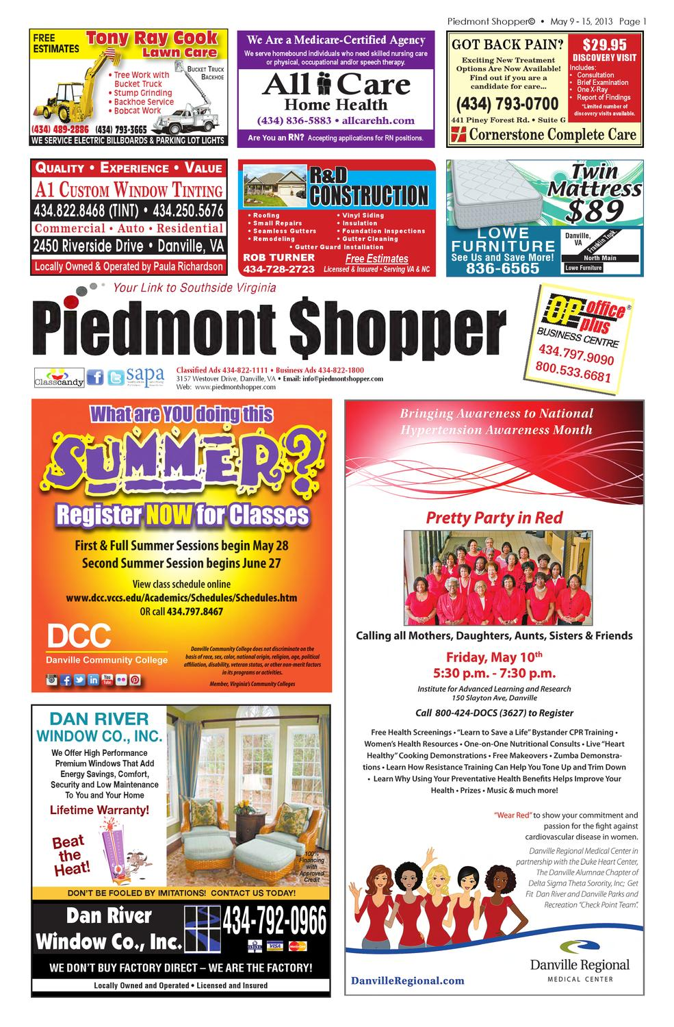 04f2455a1ce7 The Piedmont Shopper 5.9.13 by piedmont shopper - issuu