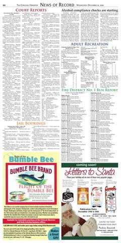 Chinook Observer Dec  12, 2012 by Matthew Winters - issuu