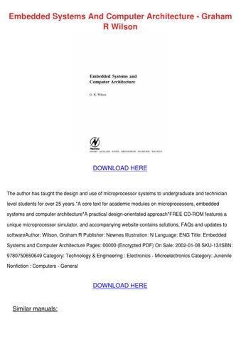 embedded system pdf free download