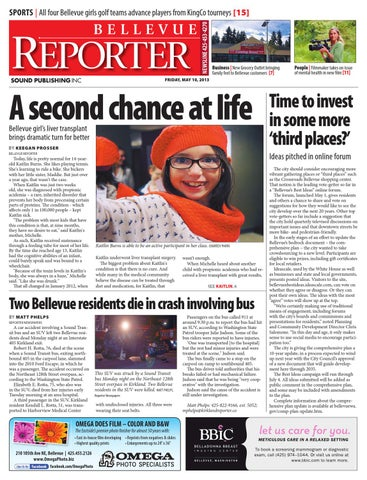 Bellevue Reporter May 10 2013 By Sound Publishing Issuu