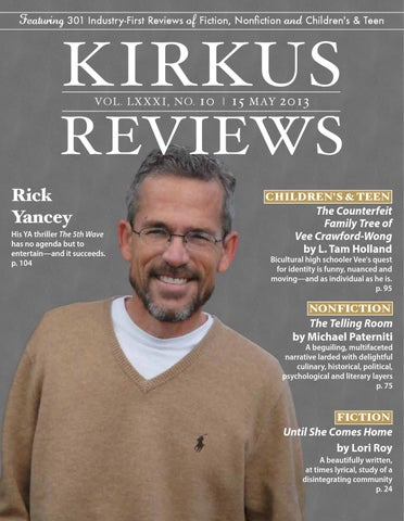 May 15 2013 Volume Lxxxi No 10 By Kirkus Reviews Issuu