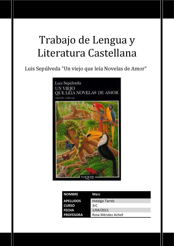 Un Viejo Que Leia Novelas De Amor By Delia Castro Véliz Issuu
