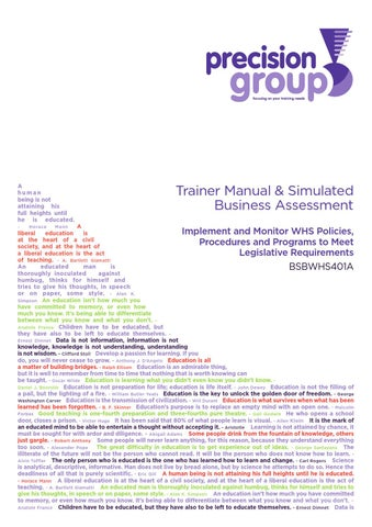 monitor complience with legislative requirements Legal & risk matters legal & risk matters managing compliance however, it is the actual practices  regulatory requirements exist.