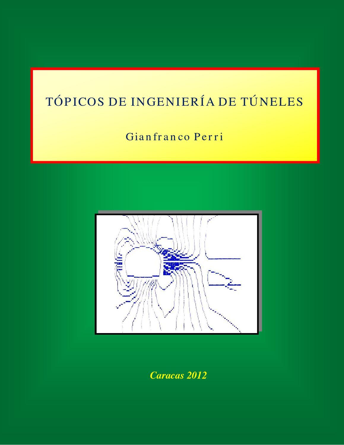 topicos de ingenieria de tuneles by Javier C Salgado - issuu