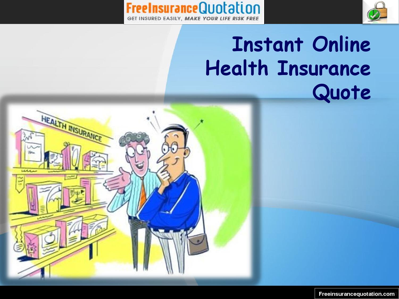 Instant Online Health Insurance Quote by Frank Garner - Issuu