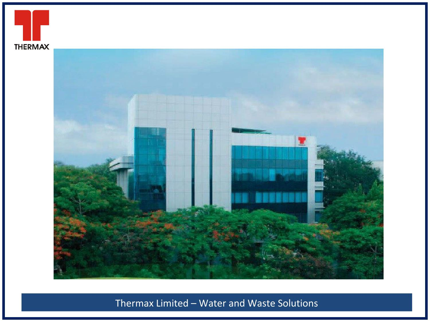 Thermax Limited - Water and Waste Solutions by India Water Week - issuu