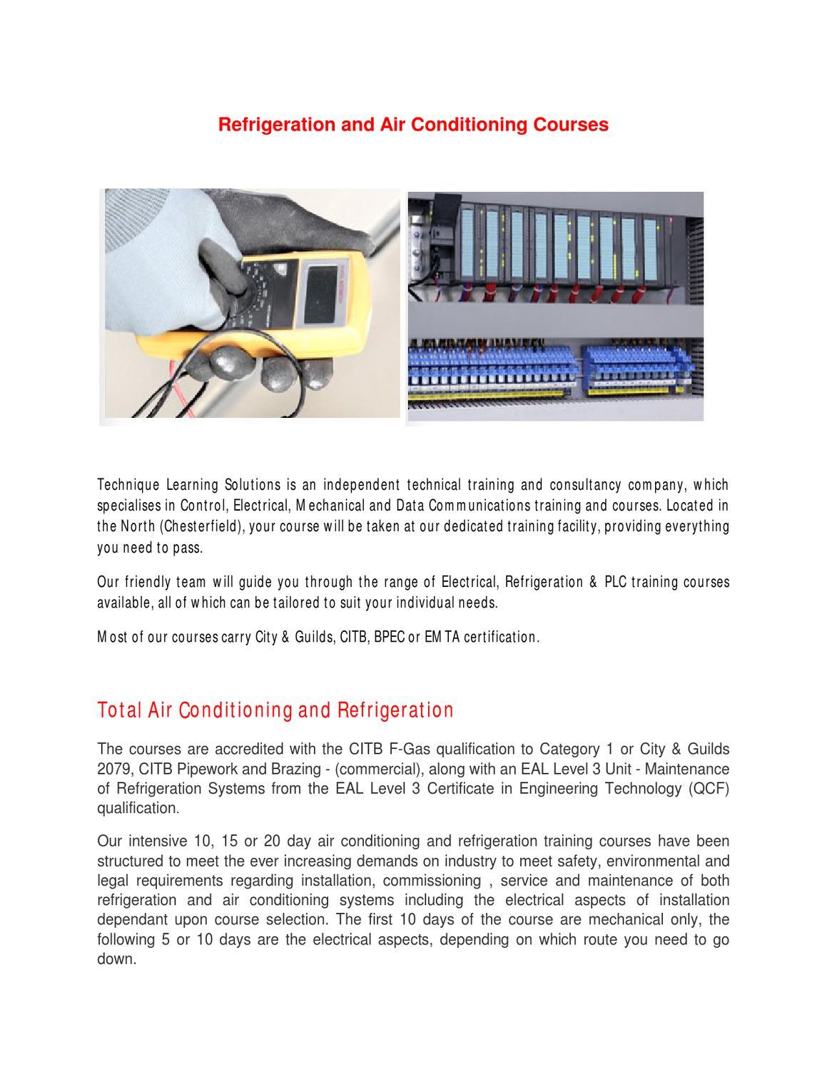 Refrigeration course by divya rai - issuu