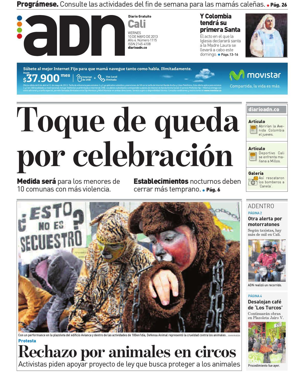 10 De Mayo Cali By Diario Adn Issuu