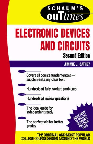 Jimmie J Cathey Schaums Outline Of Electroni By Leon