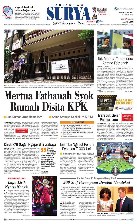 E Paper Surya Edisi 11 Mei 2013 By Harian Issuu Produk Ukm Bumn Dress Gamis Batik Motif Ayam Bekisar