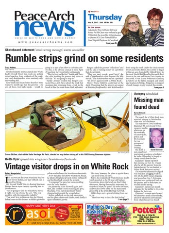 Peace Arch News May 09 2013