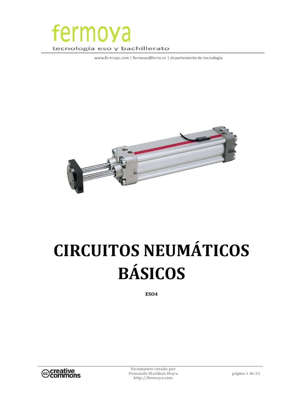 Circuito Neumatico Basico : Apuntes de neumática by fernando martínez moya issuu