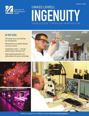 Ingenuity Magazine by UMass Lowell - issuu
