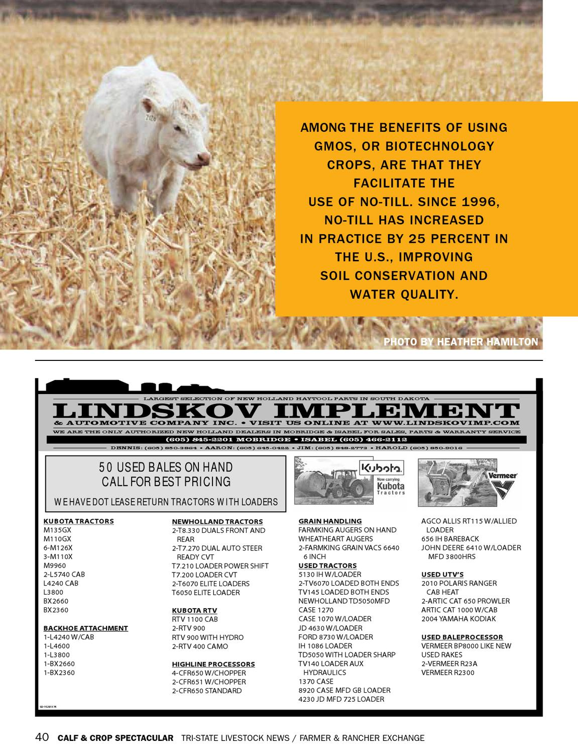 Calf Crop Spectacular By Tri State Livestock News Farmer Ford 8n Loader Rancher Exchange Issuu