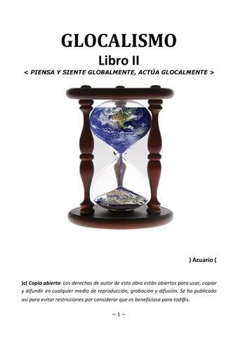 on sale 14949 0fe79 GLOCALISMO - LIBRO 2 - Manuel López Arrabal by manuel lopez - issuu