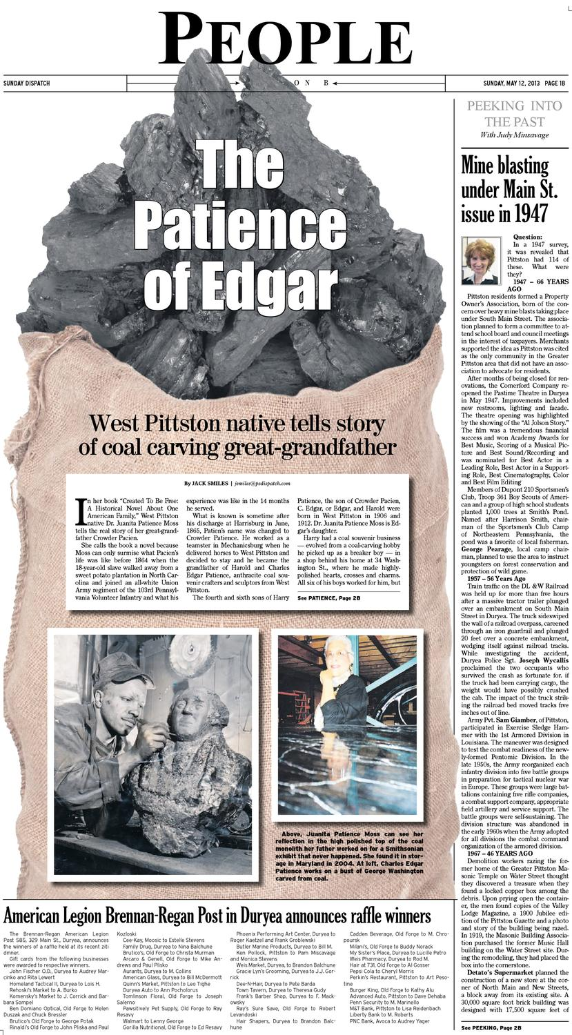 The Pittston Dispatch 05-12-2013 by The Wilkes-Barre Publishing