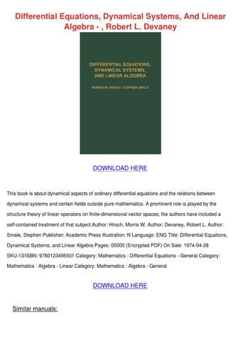 w walter ordinary differential equations pdf