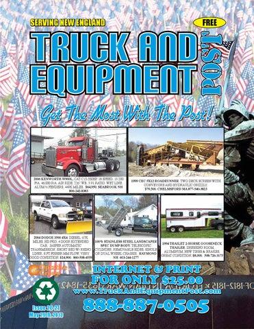 52b990e24d9 Truck And Equipment Post