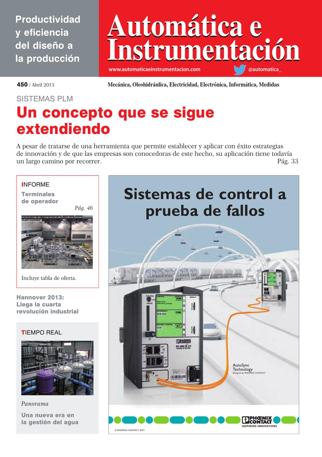 Automatica - 450 by Digital Newspapers S.L. - issuu