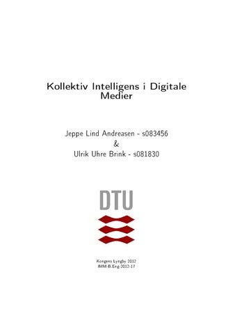 buy popular 2ac67 2b26d Kollektiv Intelligens i Digitale Medier by Ulrik Brink - issuu